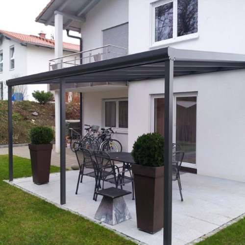 Terrassenuberdachung Aluminium Bausatz