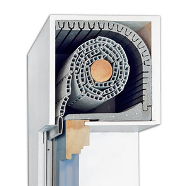 zweiteilige rolladend mmung kombiflex von diha bei rolloscout rolloscout internetshop ug. Black Bedroom Furniture Sets. Home Design Ideas