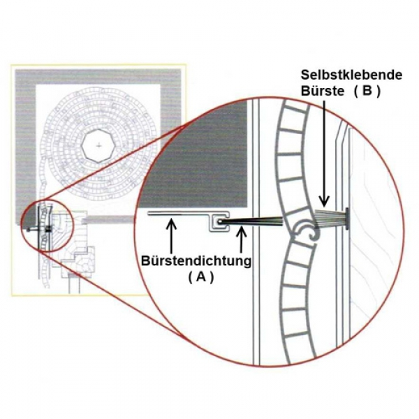 insektenschutz f r rolladenkasten im onlineshop von. Black Bedroom Furniture Sets. Home Design Ideas
