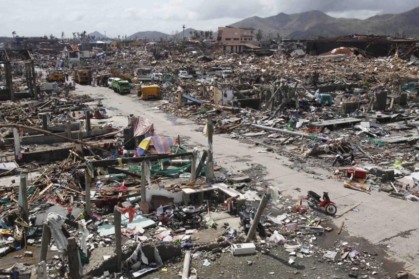 Schäden auf den Philippinen nach Taifun Haynan