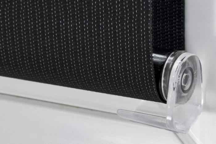 klemmfix doppelrollo farbe weiss rolloscout internetshop ug. Black Bedroom Furniture Sets. Home Design Ideas