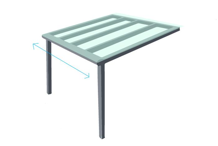 balkon berdachung als bausatz g nstig bei rolloscout rolloscout internetshop ug. Black Bedroom Furniture Sets. Home Design Ideas