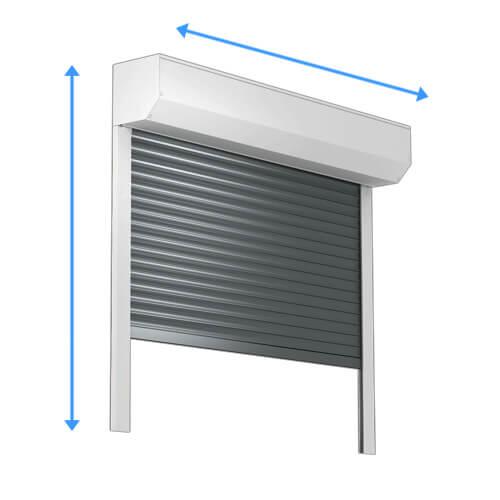garagentor rolltor rolloscout internetshop ug. Black Bedroom Furniture Sets. Home Design Ideas